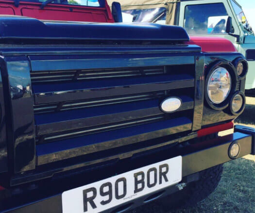 Bespoke Off Road R90 Land Rover